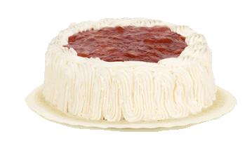 Tarta de nata y fresón